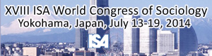 XVIII ISA World Congress - Yokohama, Japan, 13-19 July 2014