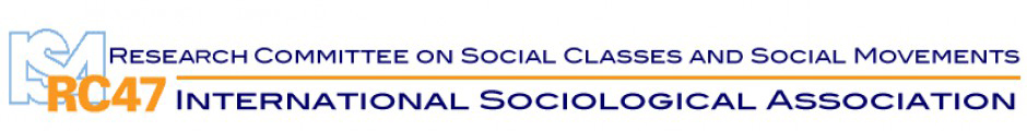 ISA RC47 – Social Classes and Social Movements - RC47 is the Research Committee 47 on Social Classes and Social Movements within the International Sociological Association